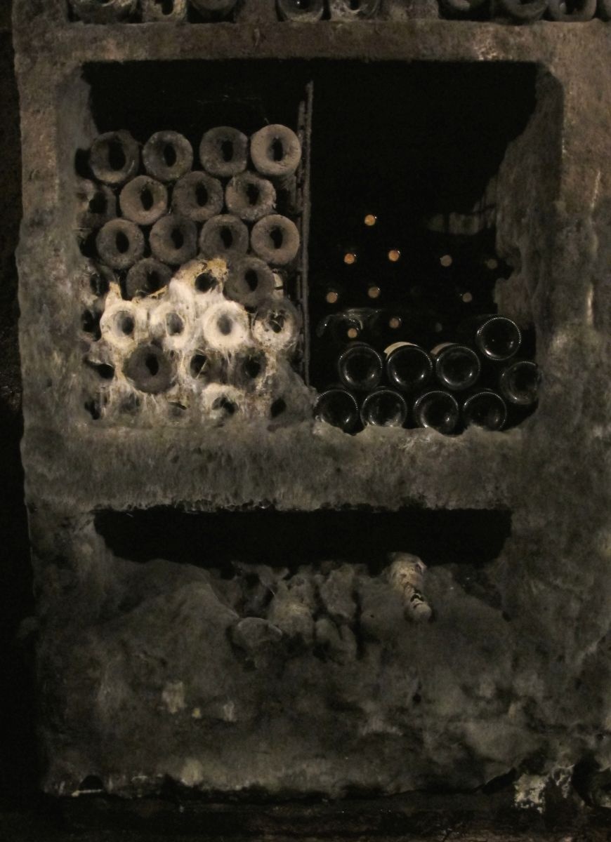 The old and the new in Clape's cellar