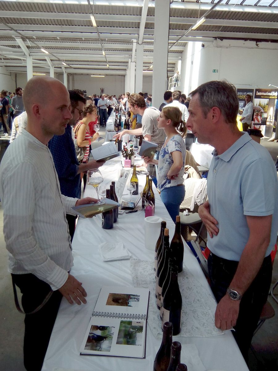 Andreas Tscheppe at Raw fair 2014