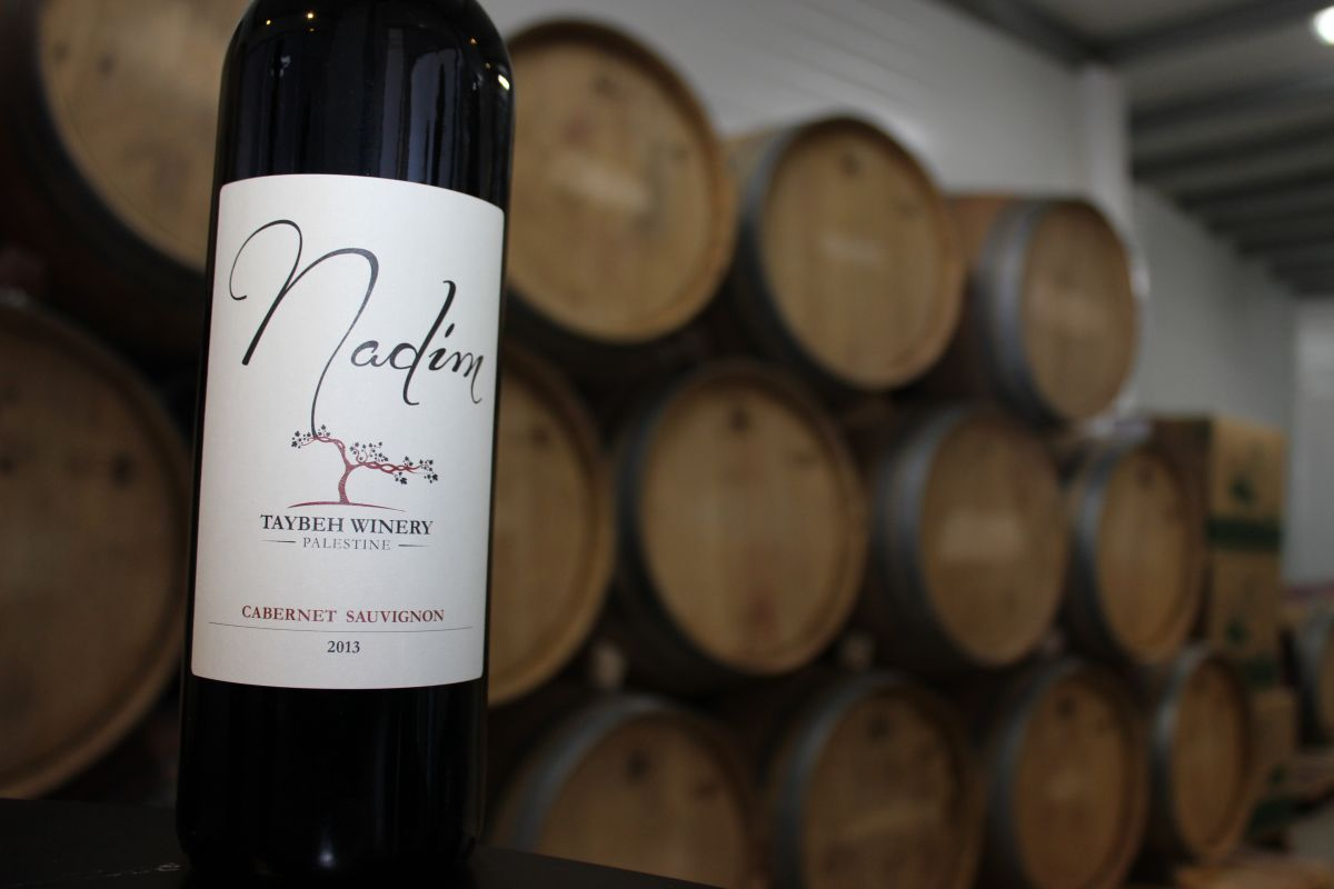 Making wine on the West Bank