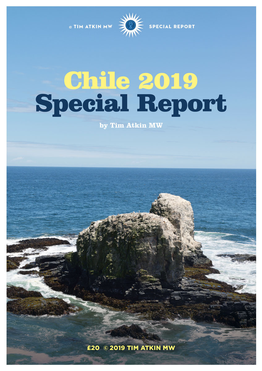 2019 Chile Special Report – Tim Atkin – Master of Wine